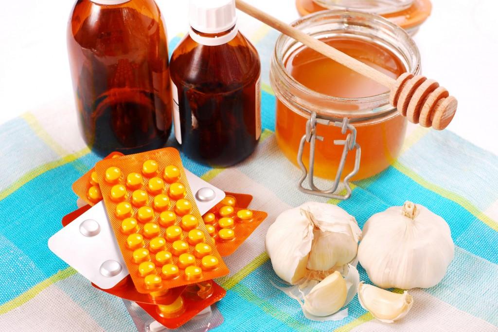 Мед при простудеы
