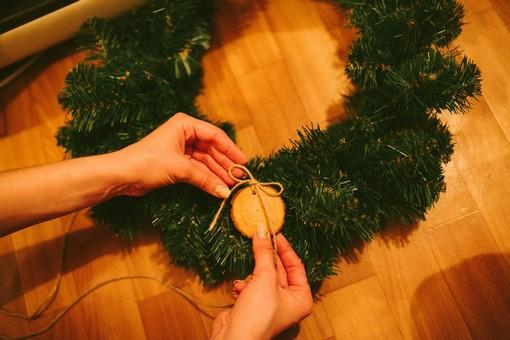 Делаем венок на Рождество своими руками
