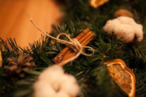 Как сделать венок на Рождество своими руками
