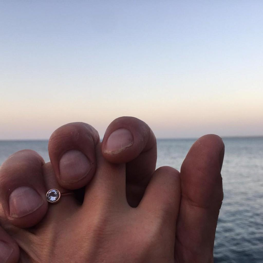 Джулия Стайлз получила предложение руки и сердца от Патрика Джей Кука