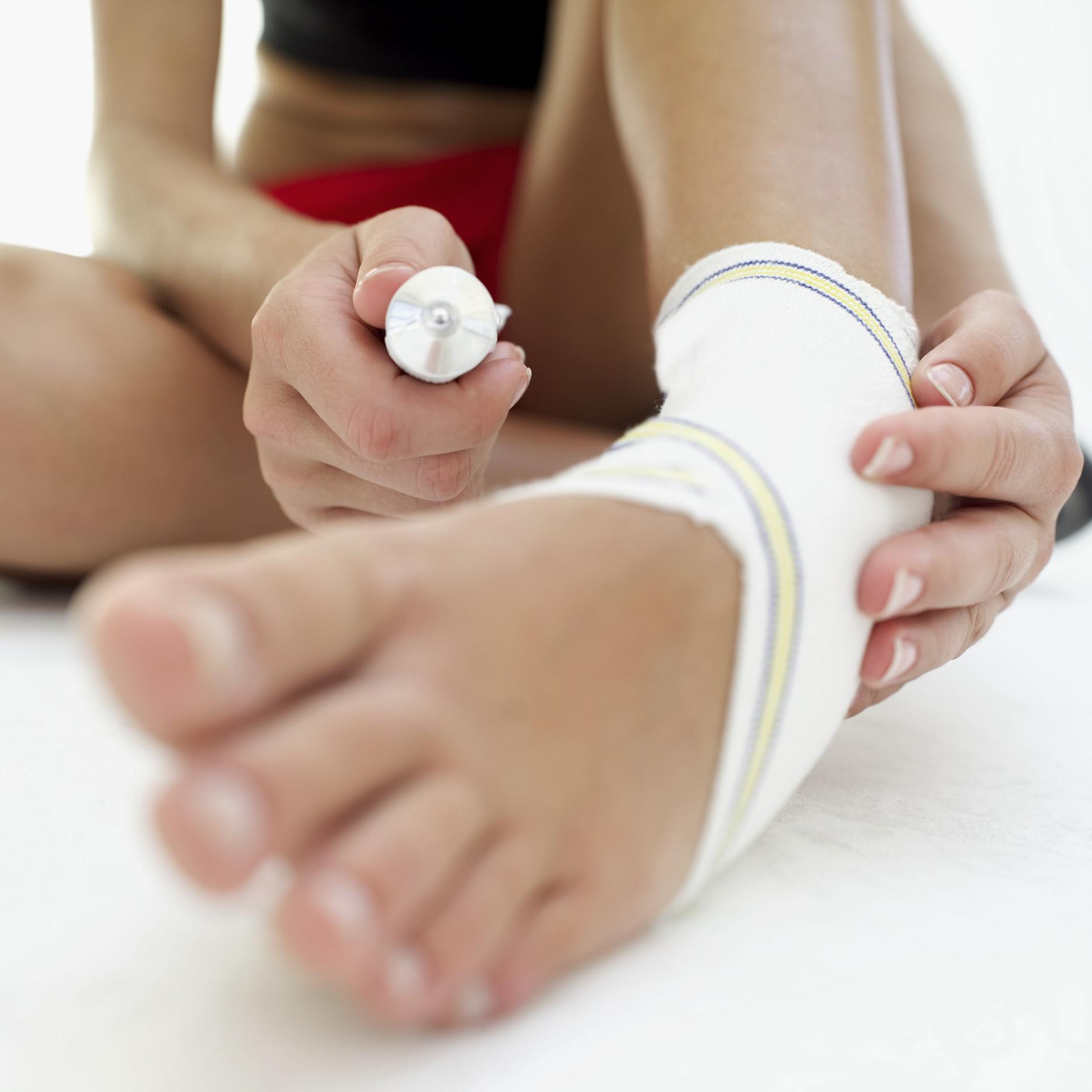Сильный ушиб пальца на ноге: что 4