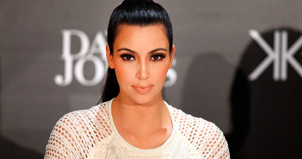 Ким Кардашьян поделилась секретом идеального декольте