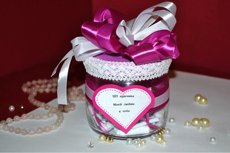 Необычный подарок на День Святого Валентина своими руками