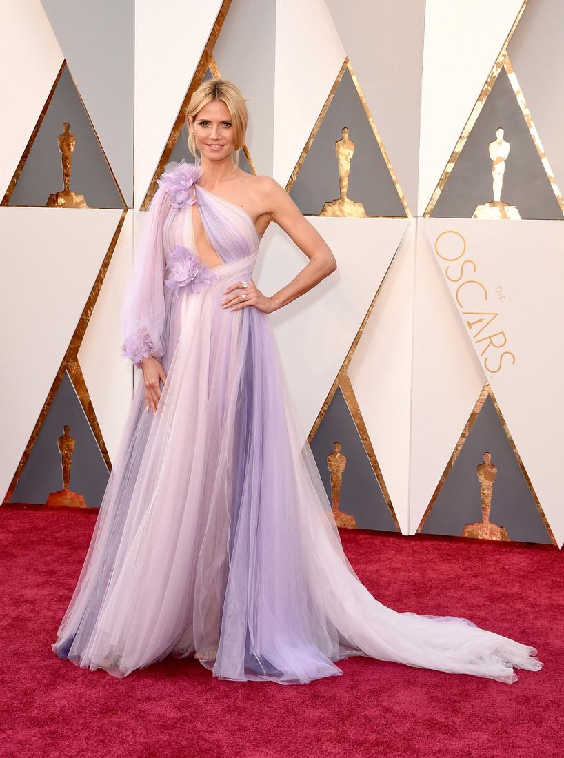 Платье Оскар 2016 Хайди Клум