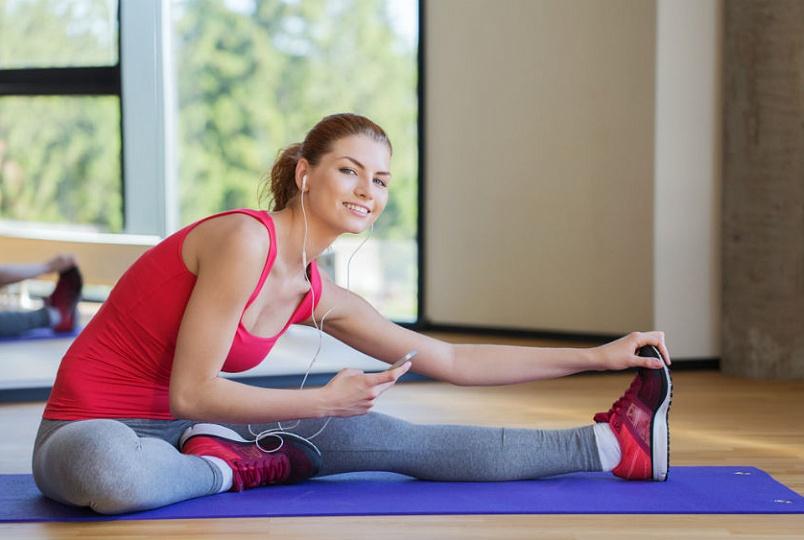 упражнения при месячных