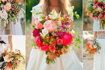 Свадебный букет невесты — готовые и самодельные варианты