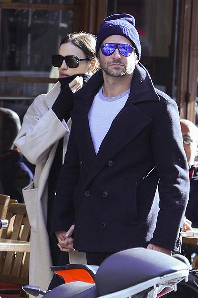 Брэдли Купер и Ирина Шейк в Париже