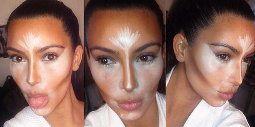 Контурирование лица фото