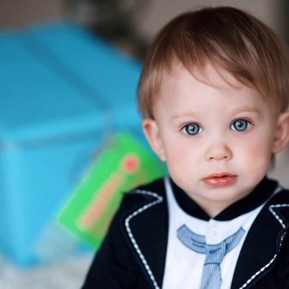 Маленький сын Стаса Пьехи