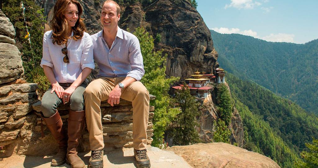Кейт Миддлтон вместе с мужем посетила Тадж-Махал