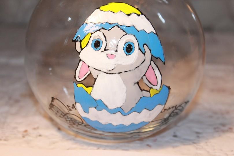 Поделка кролик на Пасху