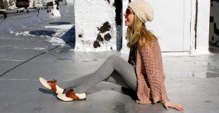 Женские дерби — модные образы с очаровательными ботинками