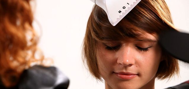 лайф-хак для укладки волос феном