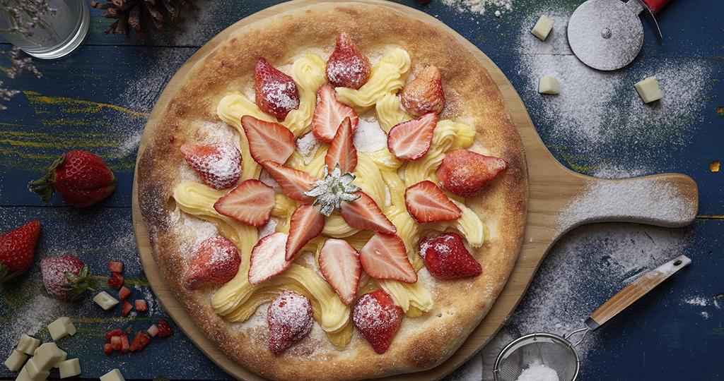 Пирог с клубничным вареньем – 4 рецепта