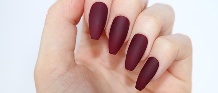Ногти-пуанты