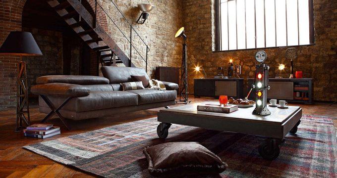 Лофт в интерьере квартиры – история, виды и элементы