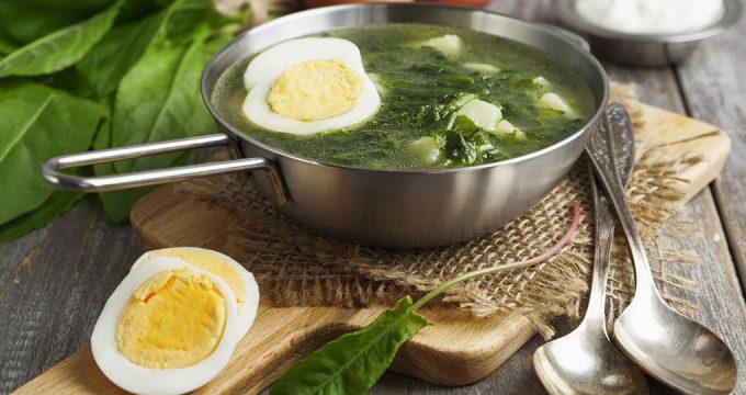 Щавелевый суп – 3 простых рецепта