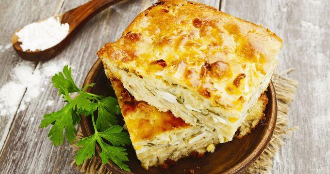 Яичный пирог – 3 вкусных рецепта