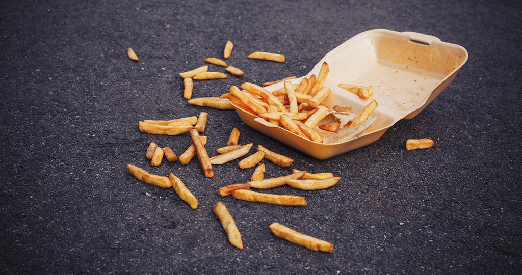Еда упала на пол – опасный источник бактерий