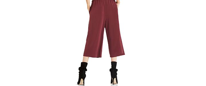 С чем носить укороченные брюки-капри
