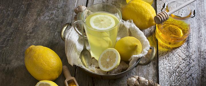 Лимон для похудения с водой