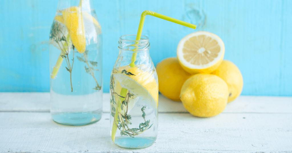 Вода лимон похудения