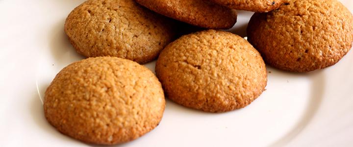Сладкое овсяное печенье