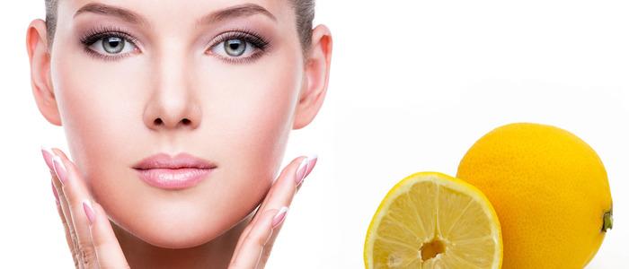 вода с лимоном для лица