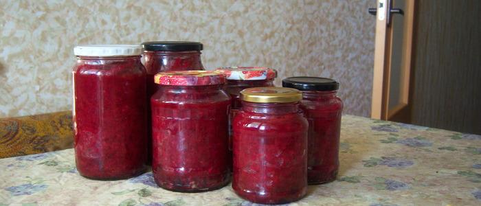 борщевая заправка на томатной пасте