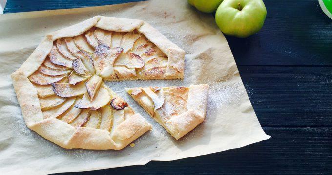 Галета с яблоками – 4 рецепта