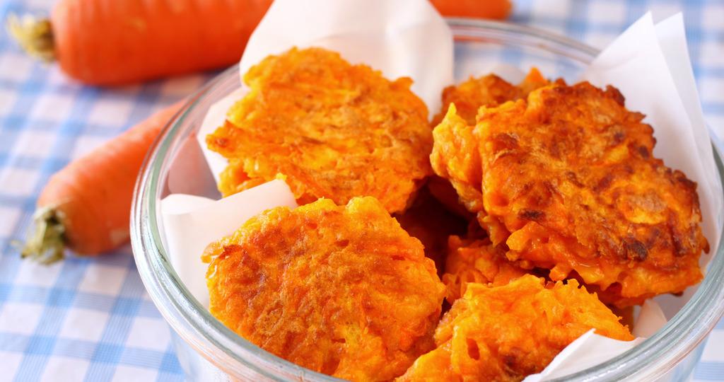 оладьи из моркови