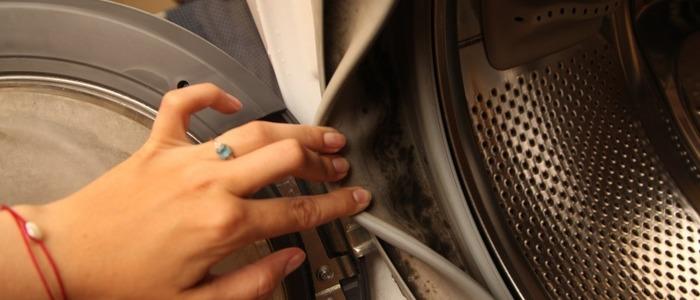 убрать плесень в стиральной машине