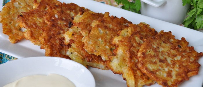 картофельные деруны белорусские