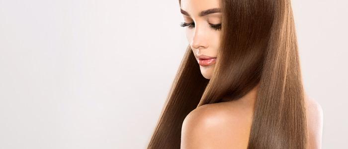 сделать волосы блестящими и гладкими