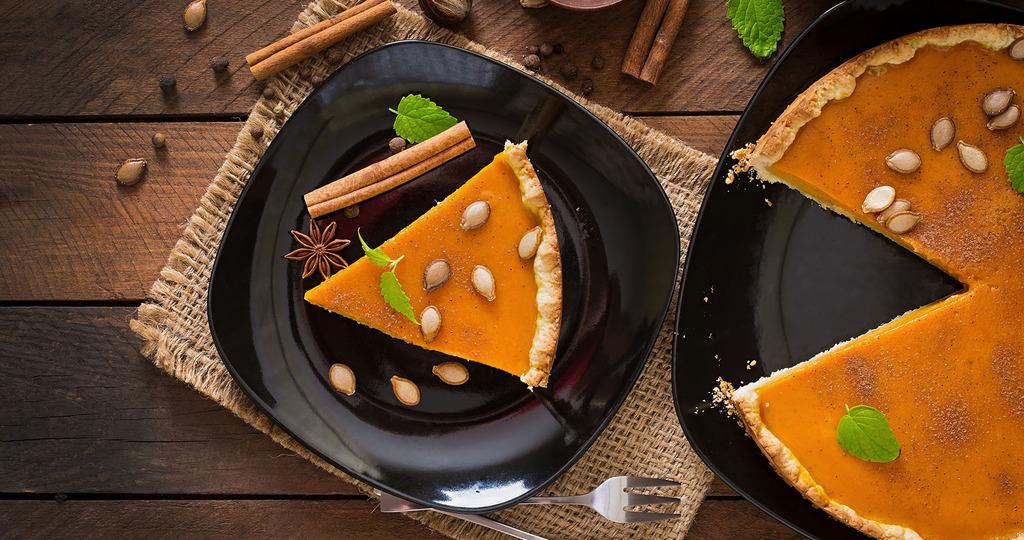 тыквенный пирог