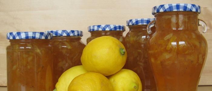 варенье из лимонов и апельсина