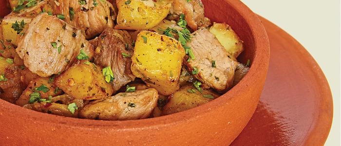 Оджахури по-грузински из свинины