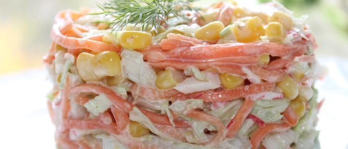 классический салат Рыжик