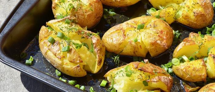 картошка с майонезом и сыром в духовке..