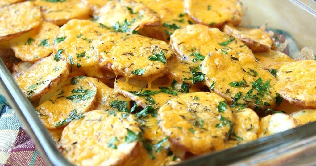 картошка с майонезом в духовке