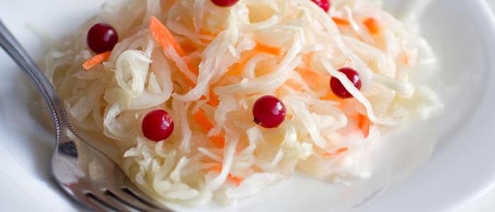 классический рецепт квашеной капусты с клюквой