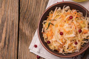 Квашеная капуста с клюквой – 6 сочных рецептов рецептов