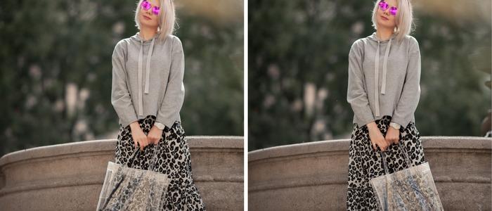 образы с леопардовой юбкой.
