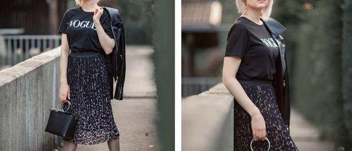юбка с леопардовым принтом