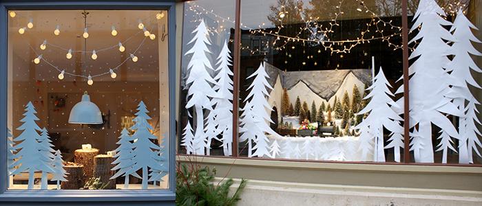 Как украсить окно на Новый год в домашних условиях