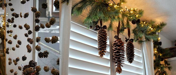 Как украсить окно на Новый год самостоятельно