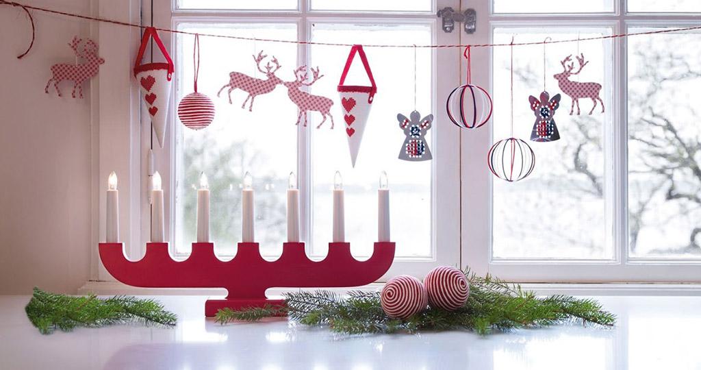 Как украсить окно на Новый год – 13 идей