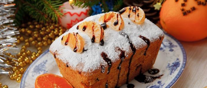 творожный кекс с мандаринами
