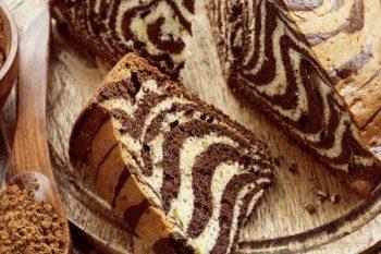 классический пирог зебра