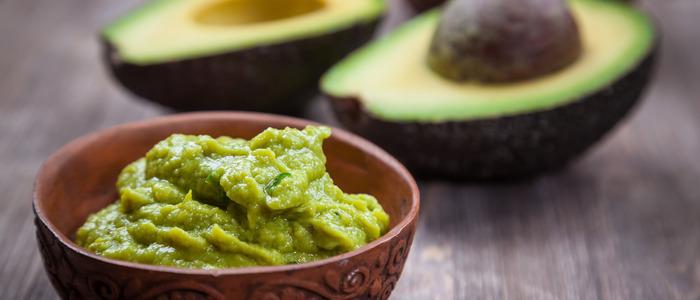 Паста гуакамоле из авокадо